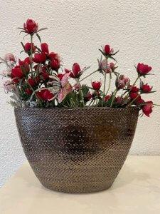 Květina 1 ks 62,- (ve váze použito 10 ks)