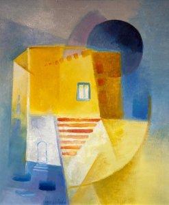 """""""Oslava léta"""", olej na plátně, 60×50, 75.400 Kč"""