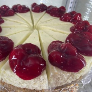 Limetkový cheesecake s višněma