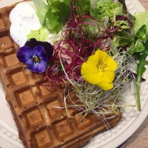 Slané wafle