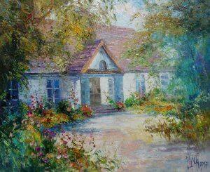 """Zelazowa Wola"", olej na plátně, 50x61, 18.200,- (vystaveno v galerii)"