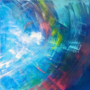 Akryl na plátně, 18.500,-