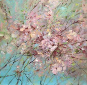 Olej na plátně, 70x70, 14.500,-